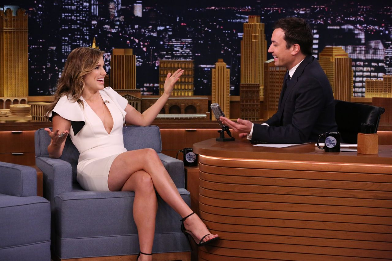 Sophia Bush - The Tonight Show With Jimmy Fallon - April 2014