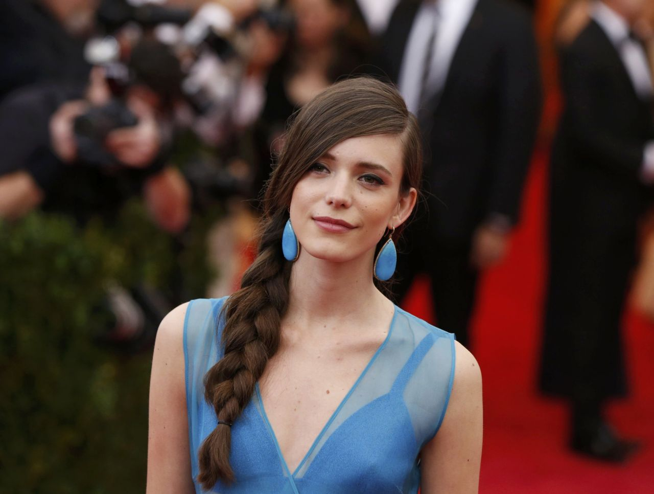 Stacy Martin Wearing Miu Miu -
