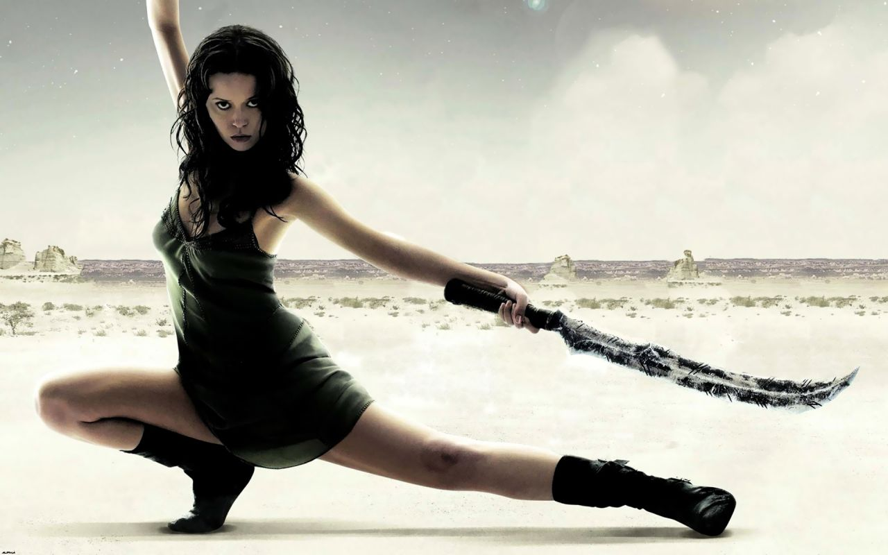 Summer glau hot wallpapers 18 - Girl with sword wallpaper ...
