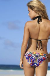 Sylvie Meis Bikini Photoshoot for Hunkemoeller - The Sylvie Collection Swim 2014
