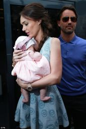 Tamara Ecclestone Out With Her Baby - Monaco, May 2014