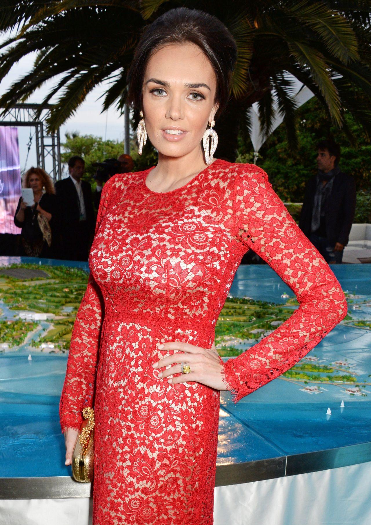 Tamara Ecclestone - Puerto Azul Experience - 2014 Cannes Film Festival