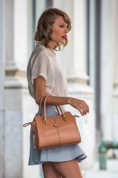 Taylor Swift in NYC - Leaving Her Apartment - May 2014