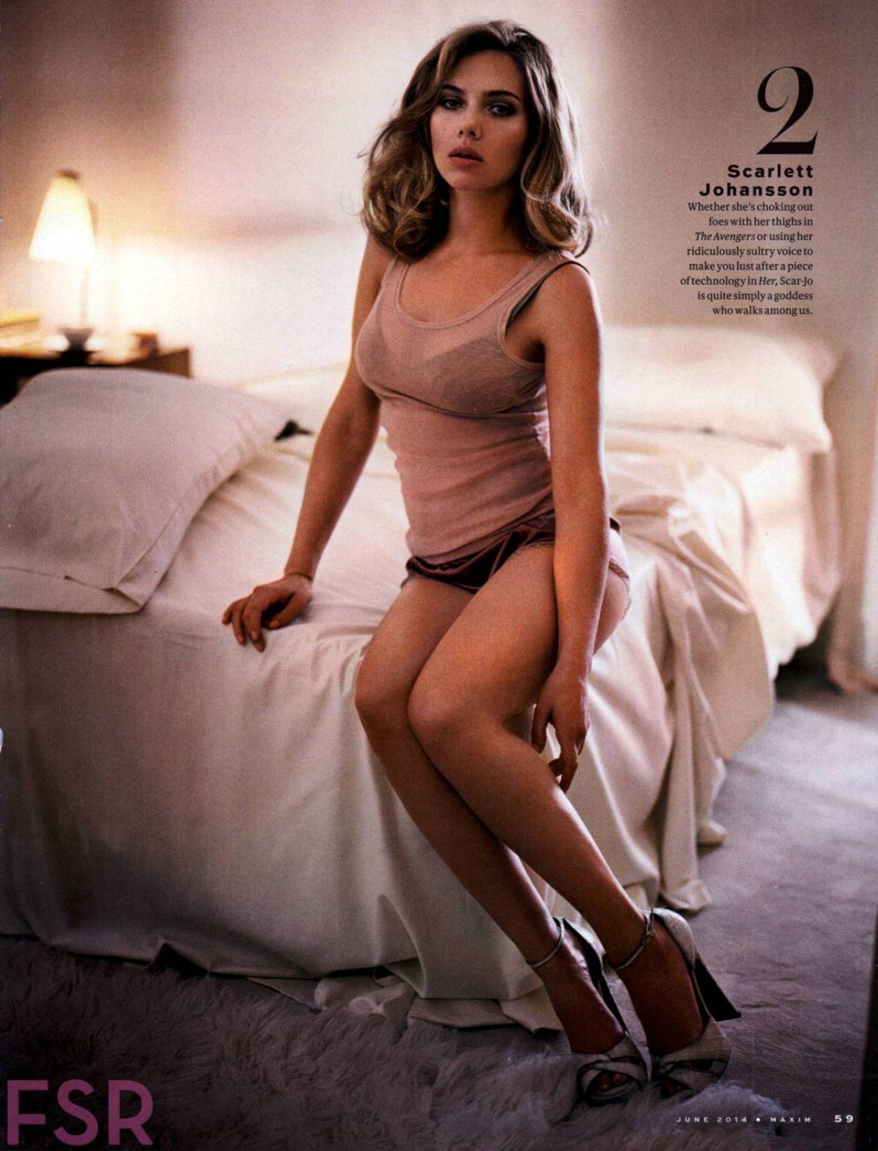 TOP 10 Celebs - Maxim Magazine HOT 100 (June 2014)