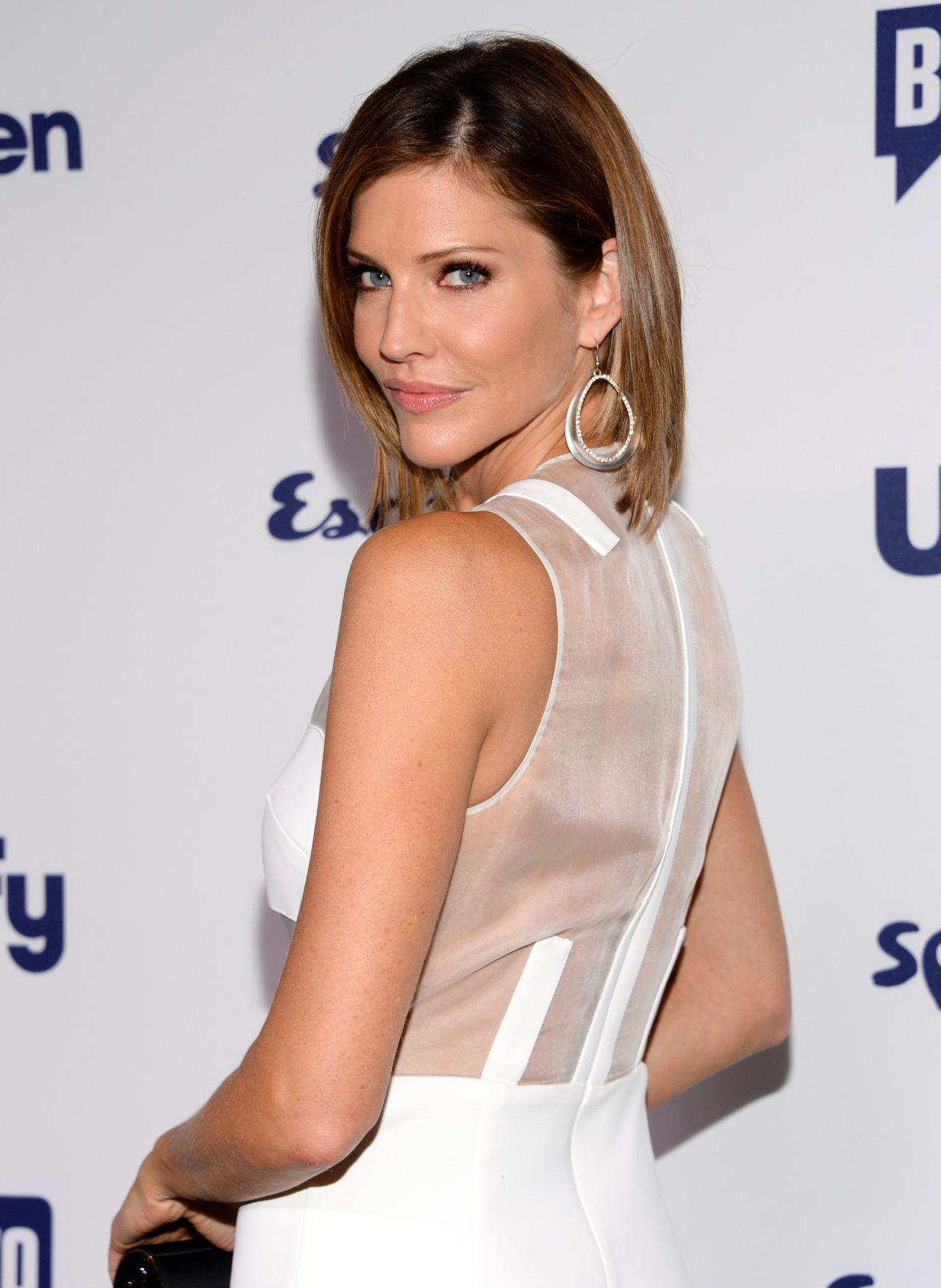 Tricia Helfer 2014 Nbcuniversal Cable Entertainment Upfronts