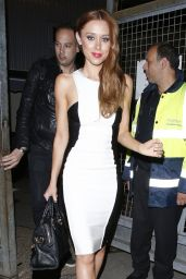 Una Healy - Leaving BGT studios - May 2014
