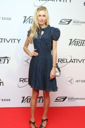 Valentina Zelyaeva - 10 Years of Relativity Films Photocall in Cannes - May 2014