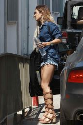 Vanessa Hudgens Hot Leggy - Out in Los Angeles - May 2014