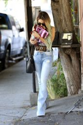 Vanessa Hudgens in Jeans at Nine Zero One Salon in West Hollywood - May 2014
