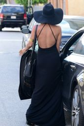 Vanessa Hudgens - Leaving The Village Restaurant in Studio City - May 2014