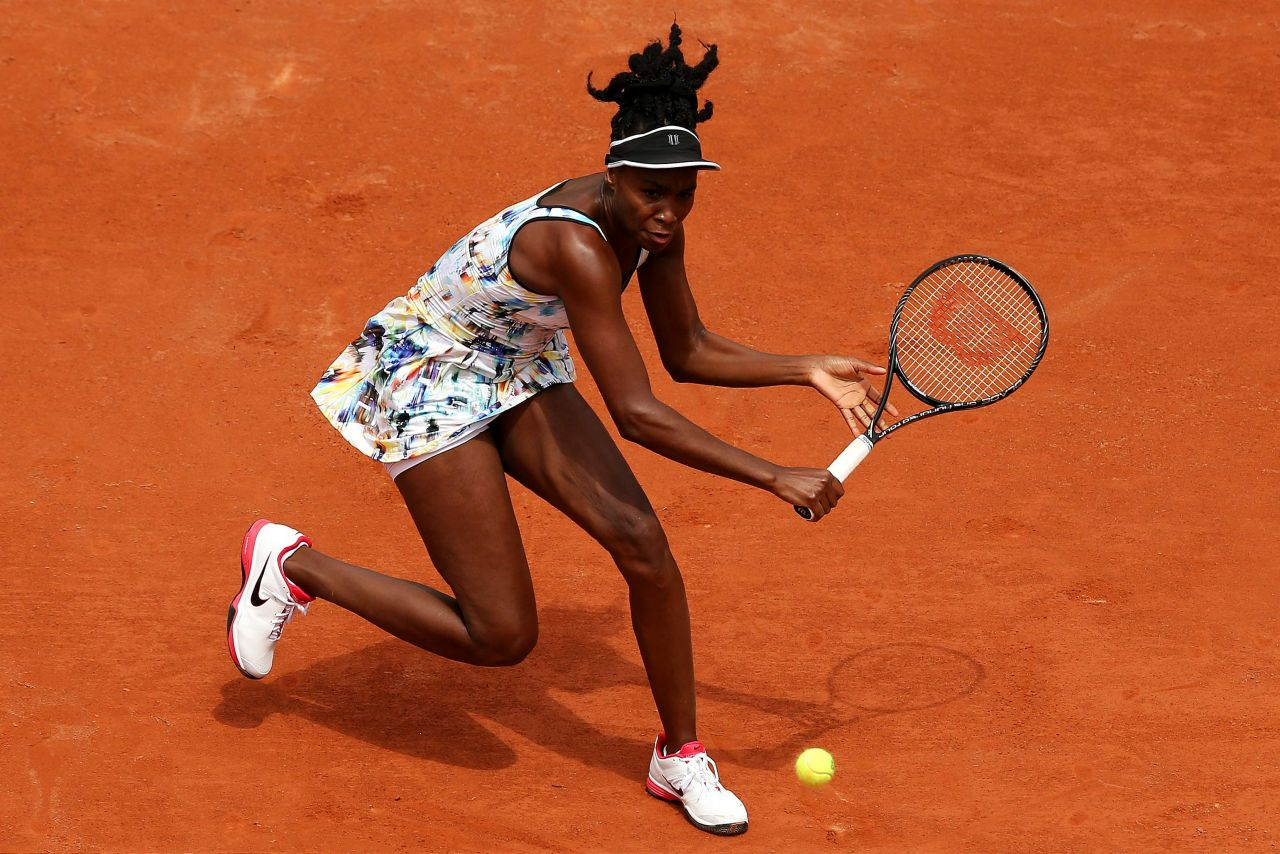 Venus Williams – 2014 French Open at Roland Garros – Second Round
