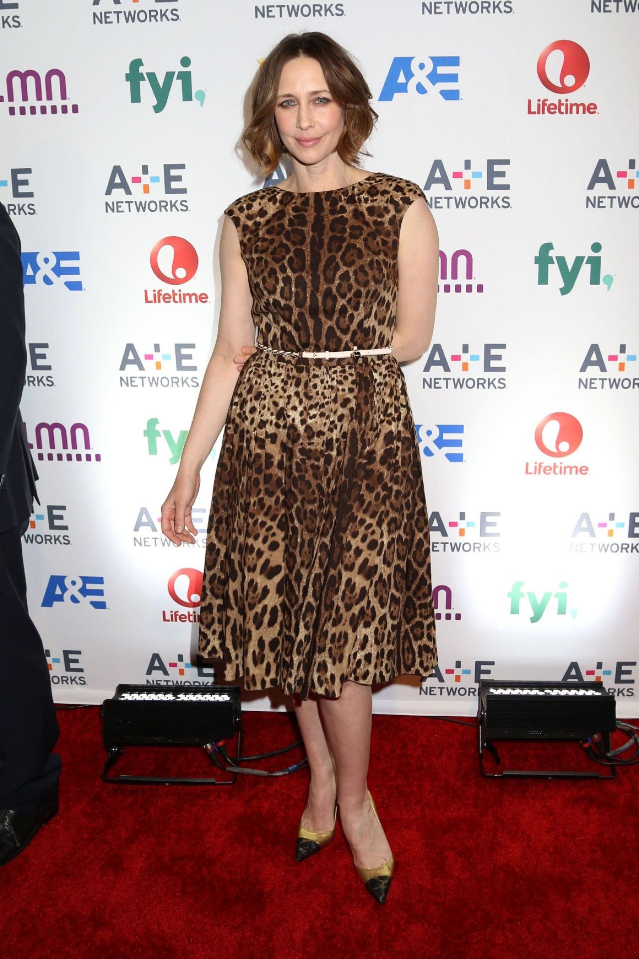 Vera Farmiga - A+E Networks Upfront - May 2014