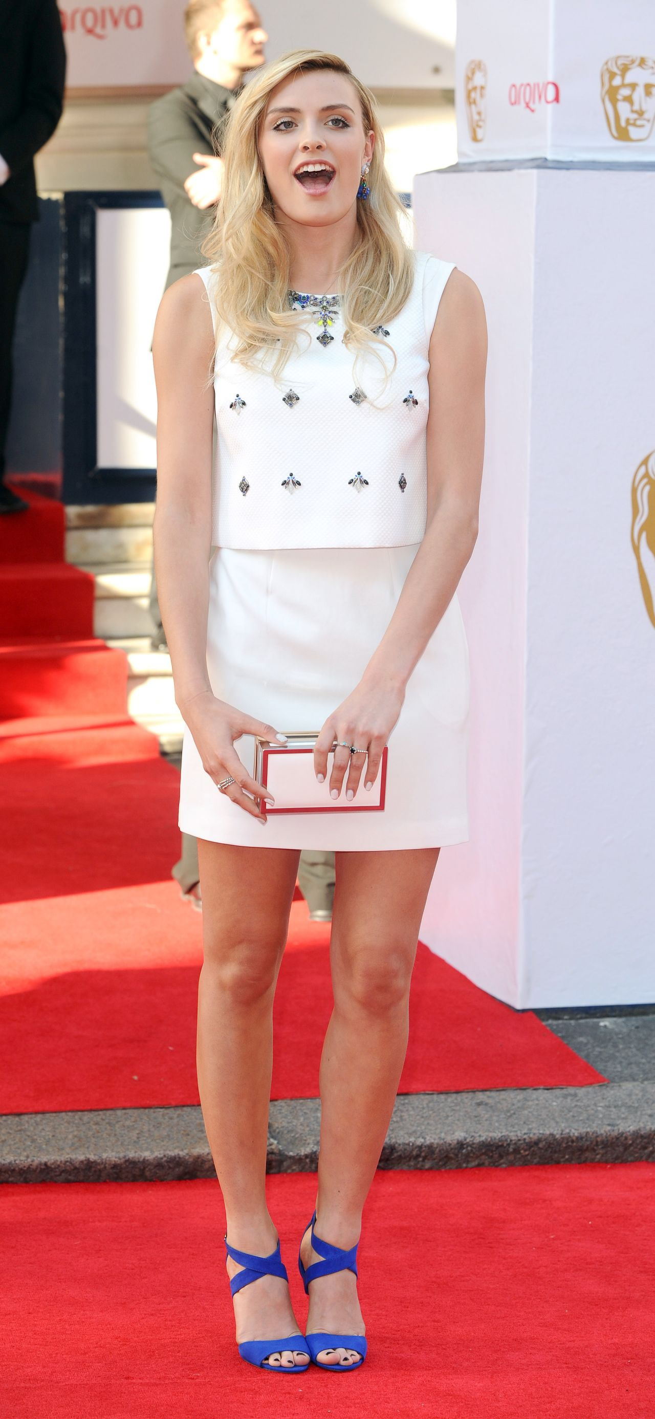 Wallis Day - 2014 British Academy Television Awards in London
