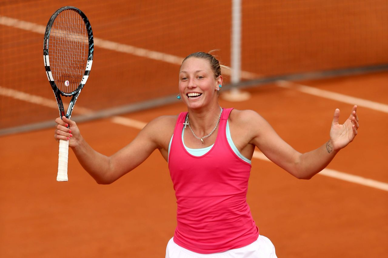 Yanina Wickmayer – 2014 French Open at Roland Garros – Day 3