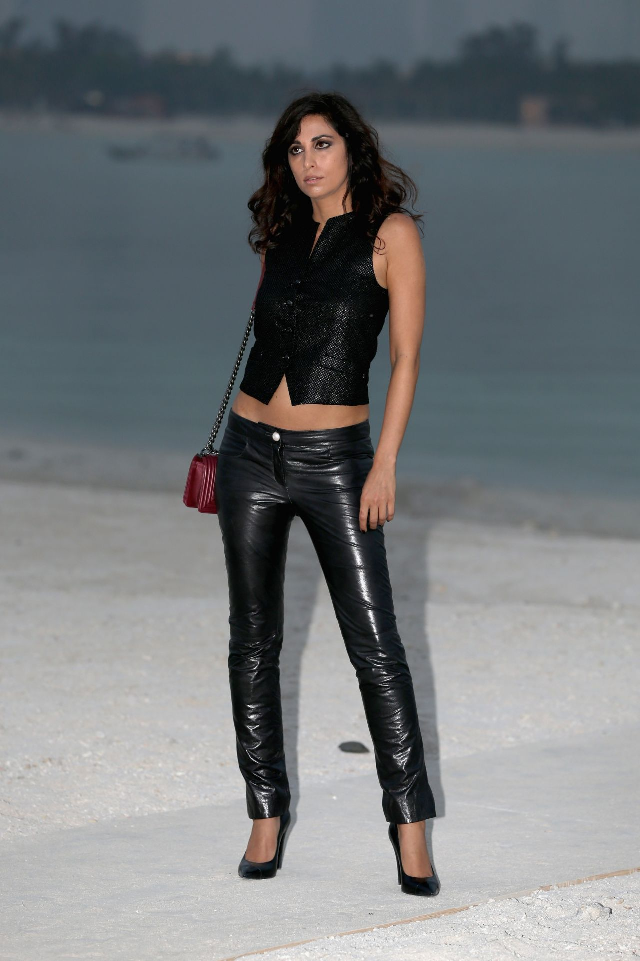 Yasmine Hamdan at Chanel Cruise Dubai Fashion Show - May 2014