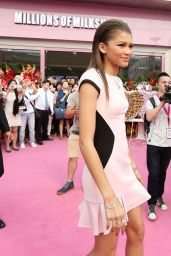 Zendaya Coleman in Ted Baker Dress at the Millions Of Milkshakes Store Opening in Shanghai - May 2014