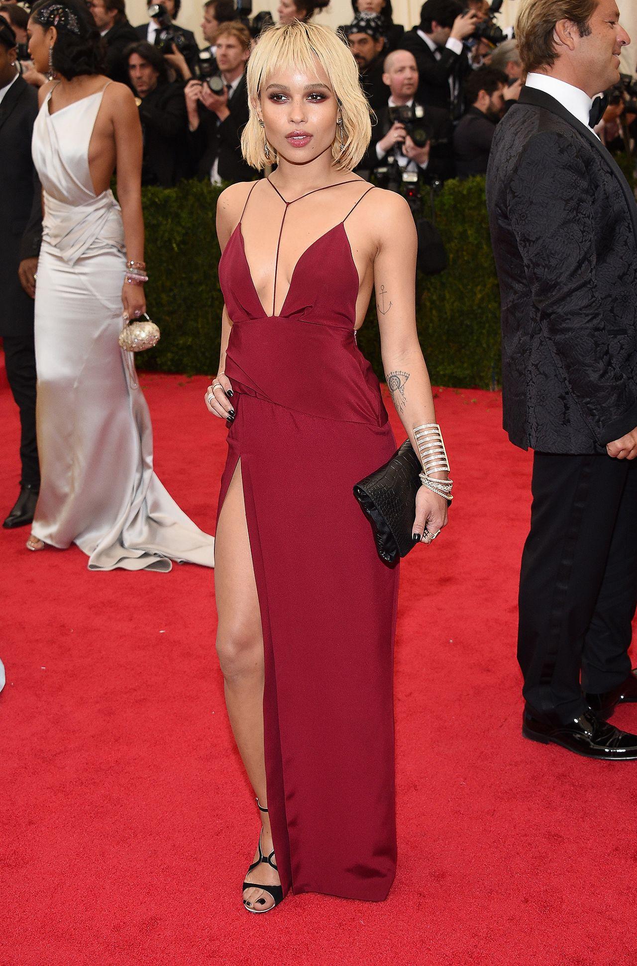 Zoe Kravitz Wearing To...