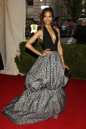 Zoe Saldana in Michael Kors – 2014 Met Costume Institute Gala