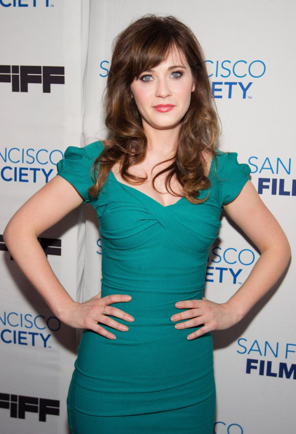 Zooey Deschanel - 2014 San Francisco International Film Festival Society Awards Night