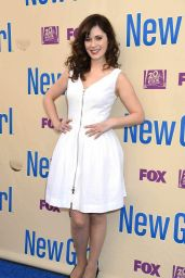 Zooey Deschanel - New Girl Season 3 Finale Screening And Cast Q&A in Los Angeles