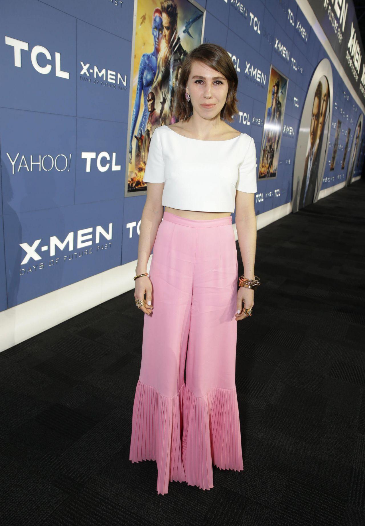Zosia Mamet        X-Men  Days Of Future Past    Premiere in New York    Zosia Mamet Legs
