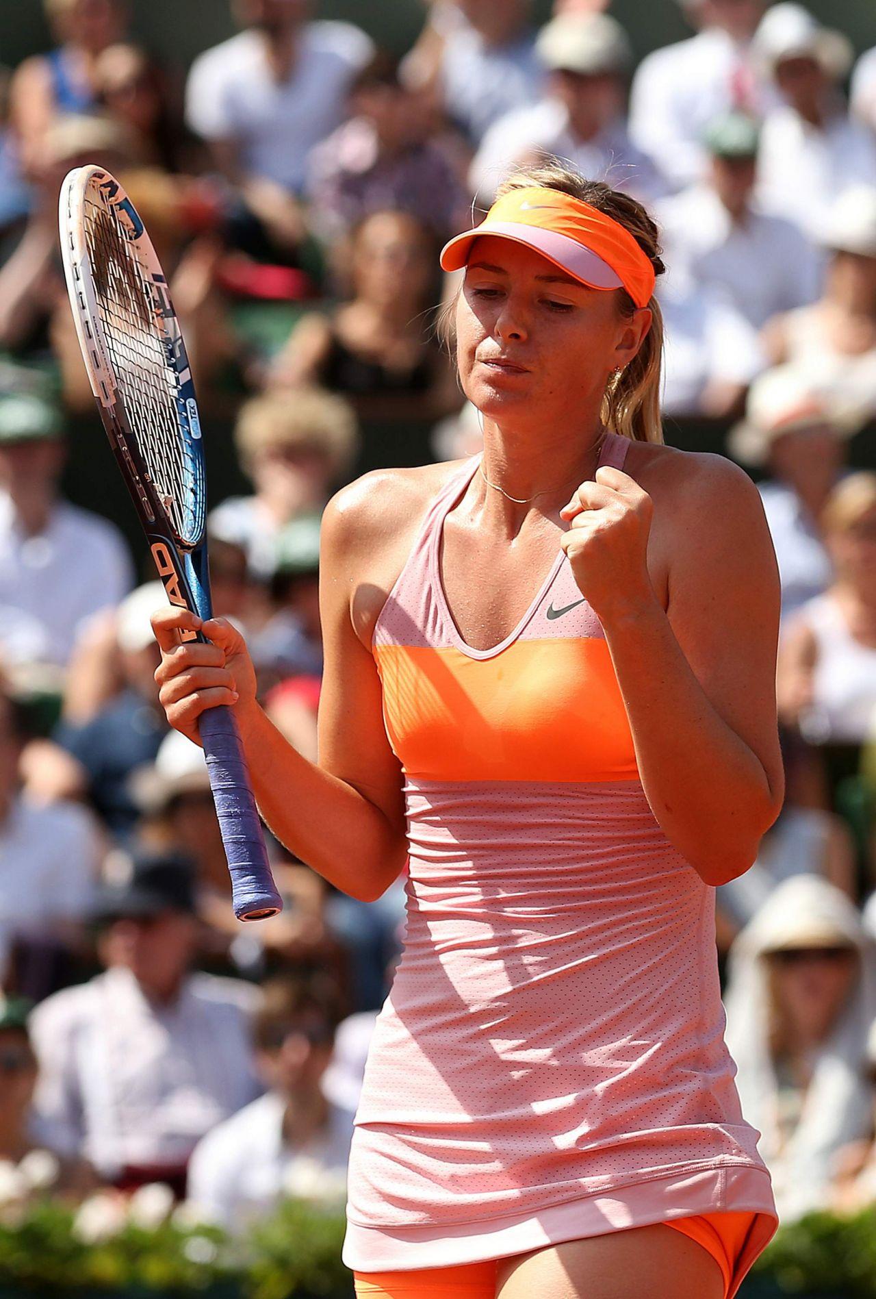 Maria Sharapova – 2014 French Open at Roland Garros – Final