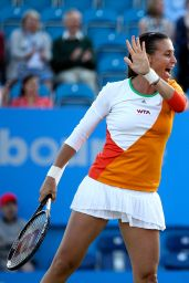Martina Hingis & Flavia Pennetta – Aegon International 2014 at Devonshire Park in Eastbourne – Final
