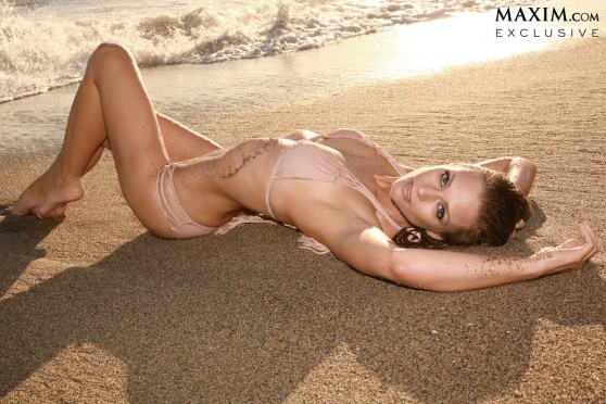 A.J. Cook Hot in Bikini - Hot 100 - Maxim (June 2014)