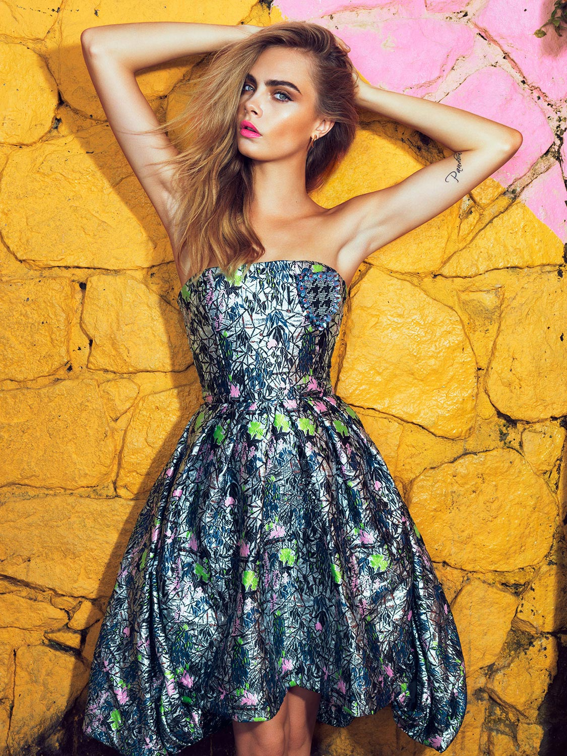 Cara Delevingne Photoshoot For Vogue Magazine Brazil 2014