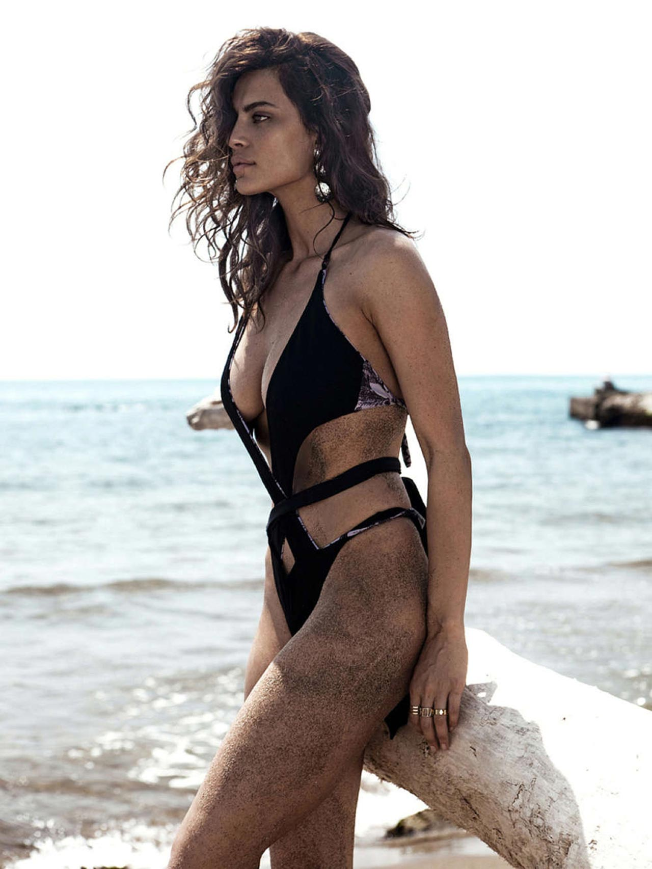 Catrinel Menghia Bikini Photoshoot The One Magazine June
