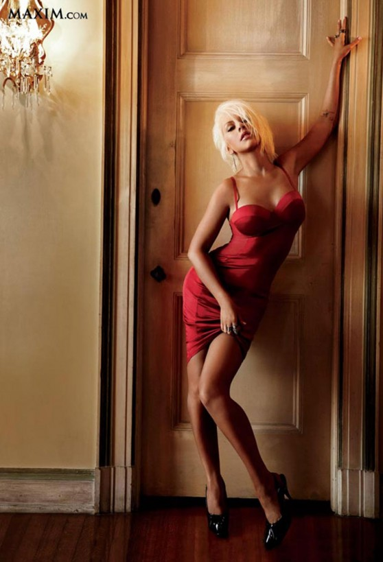 Christina Aguilera - Hot 100 - Maxim Magazine (June 2014)