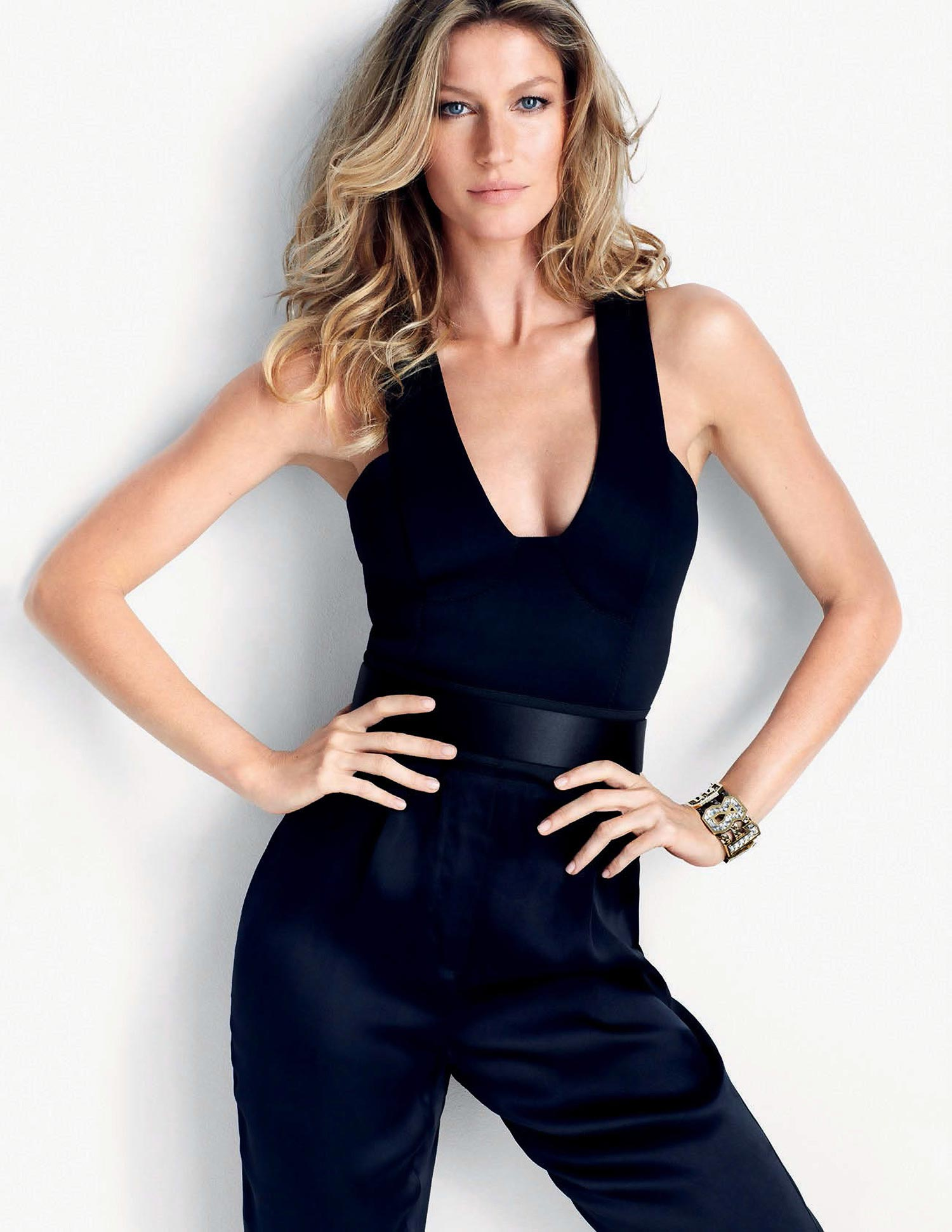 Gisele Bundchen - Photoshoot For Elle Magazine 2014 Matt -9329