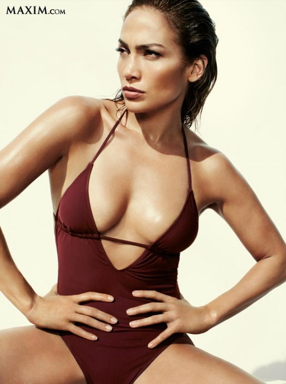 Jennifer Lopez Bikini Photos - Hot 100 - Maxim (June 2014)