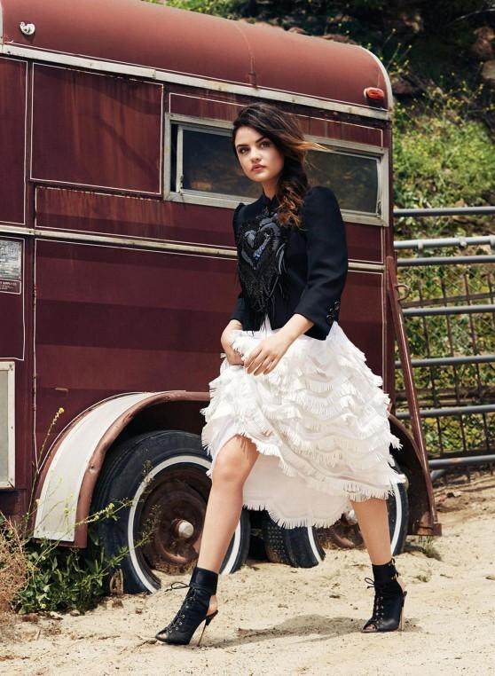 Lucy Hale - Flare Music Magazine Photoshoot 2014