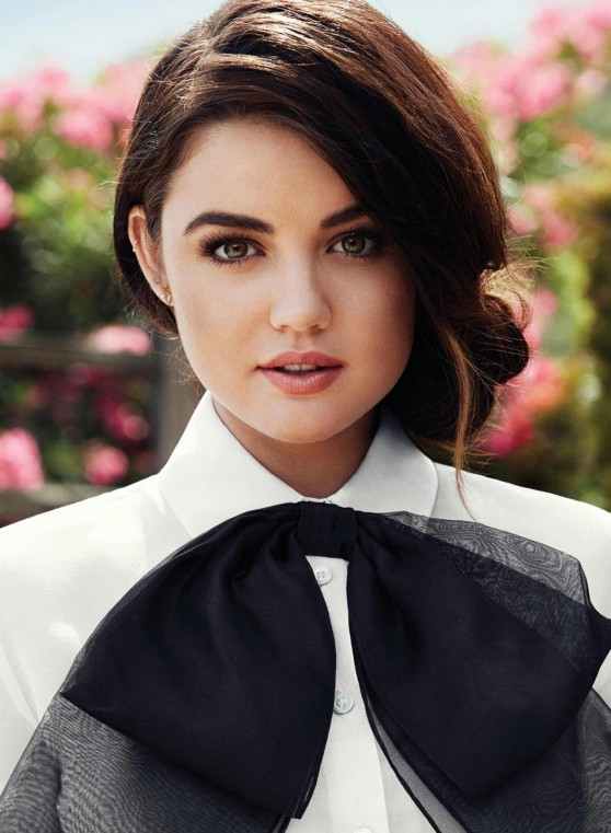 Lucy Hale - Flare Music Magazine Photoshoot 2014