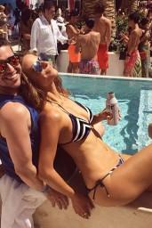 Maria Menounos in a Bikini - Twitpics, June 2014