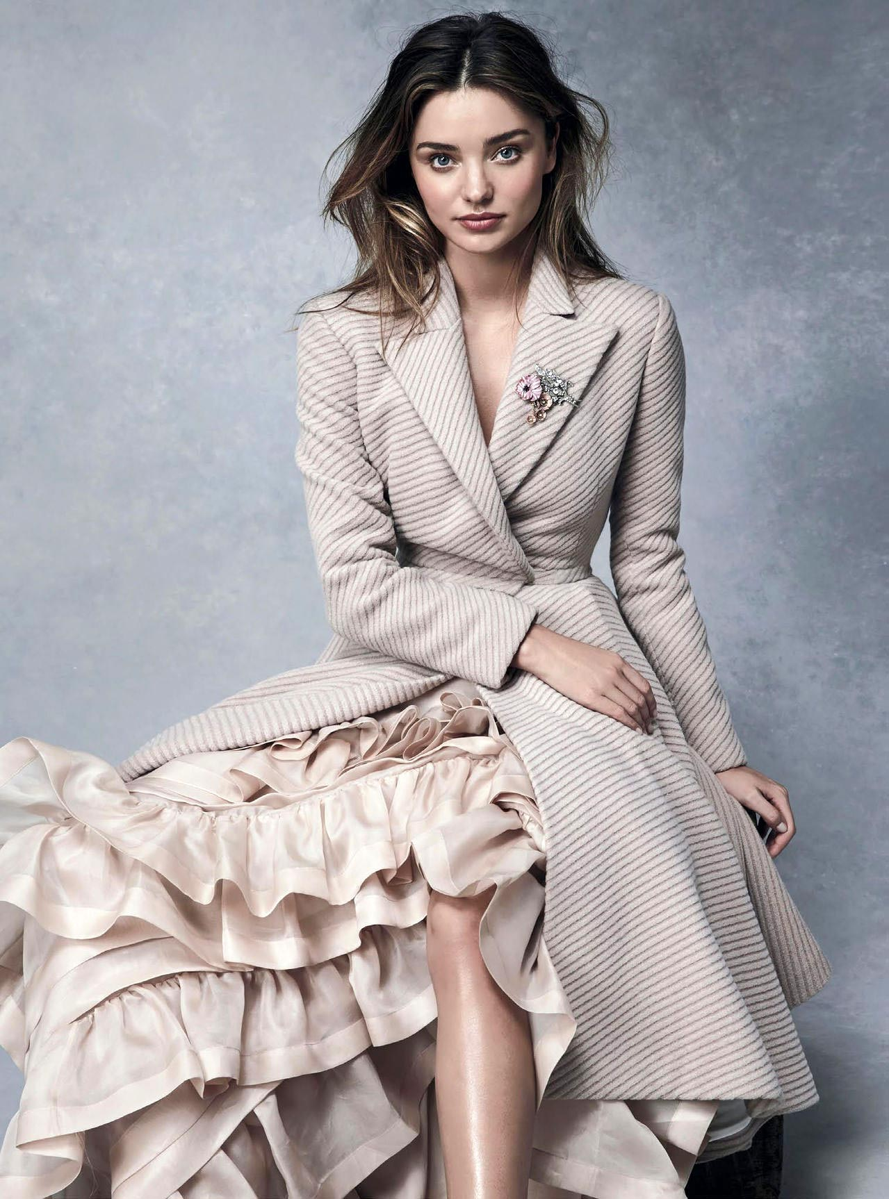Miranda Kerr Photoshoot For Vogue Australia July