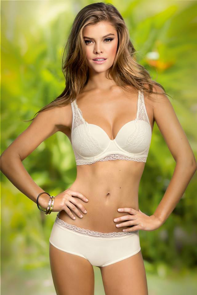 Nina Agdal Bikini Photos Leonisa Swim 2014
