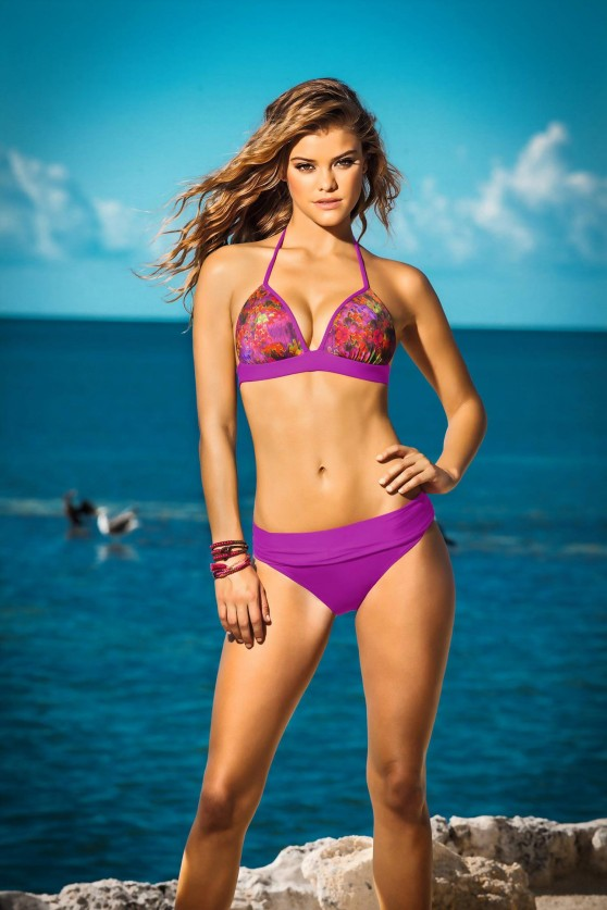 Nina Agdal Bikini Photos - Leonisa Swim 2014