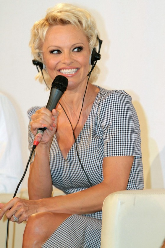 Pamela Anderson at 60th Taormina Film Festival – Press conference