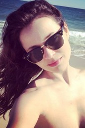 Sasha Cohen in a Bikini – Instagram, June 2014