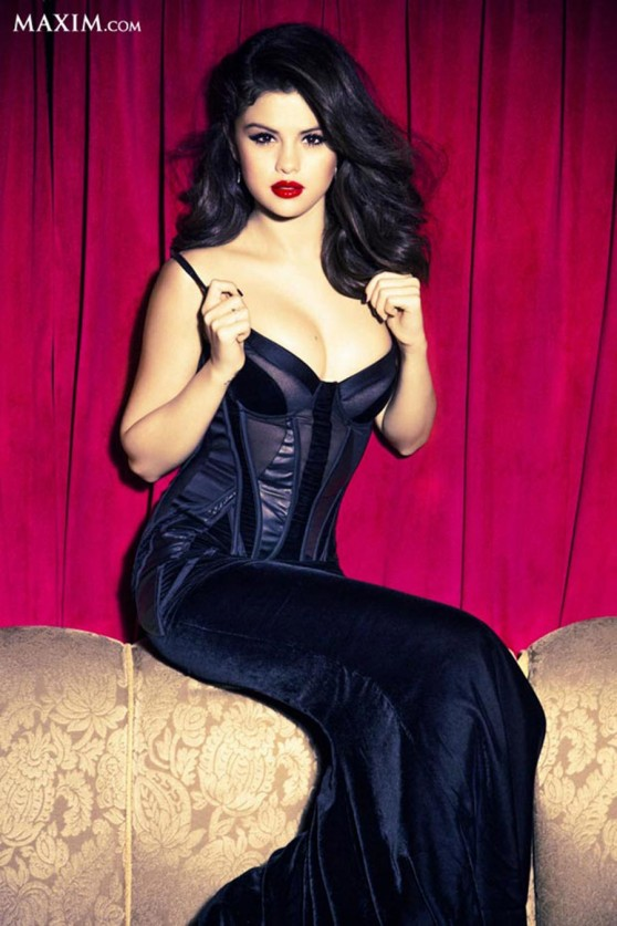 Selena Gomez - Hot 100 - Maxim Magazine (June 2014)