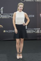 A.J. Cook – Photocall at 2014 Monte Carlo TV Festival in Monaco