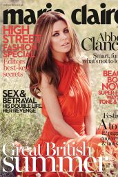 Abbey Clancy - Marie Claire Magazine (UK) July 2014 Cover