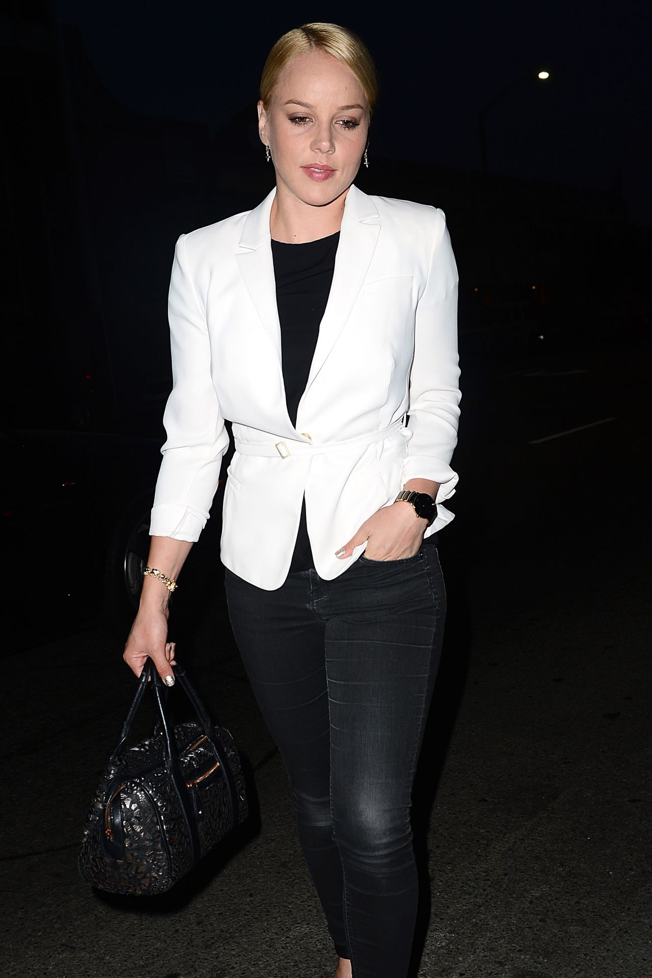 Abbie Cornish Night Out Style - at Crossroads in West Hollywood - June 2014