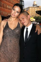 Adriana Lima in Jason Wu Gown - 2014 Young Friends of ACRIA Summer Soiree