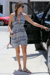 Alessandra Ambrosio - After shopping in Brentwood - June 2014