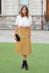 Alexa Chung at Royal Academy Summer Exhibition Preview Party - June 2014