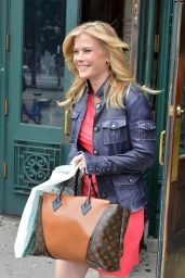 Alison Sweeney - Leaving Barnes & Noble at Union Square in New York City - June 2014