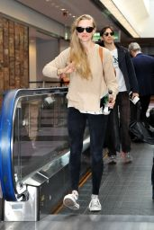 Amanda Seyfried at Narita International Airport in Japan - June 2014